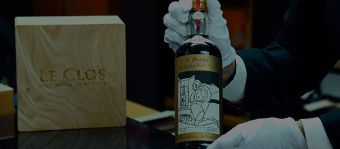 El whisky más caro de la historia: 1,2 millones de dólares