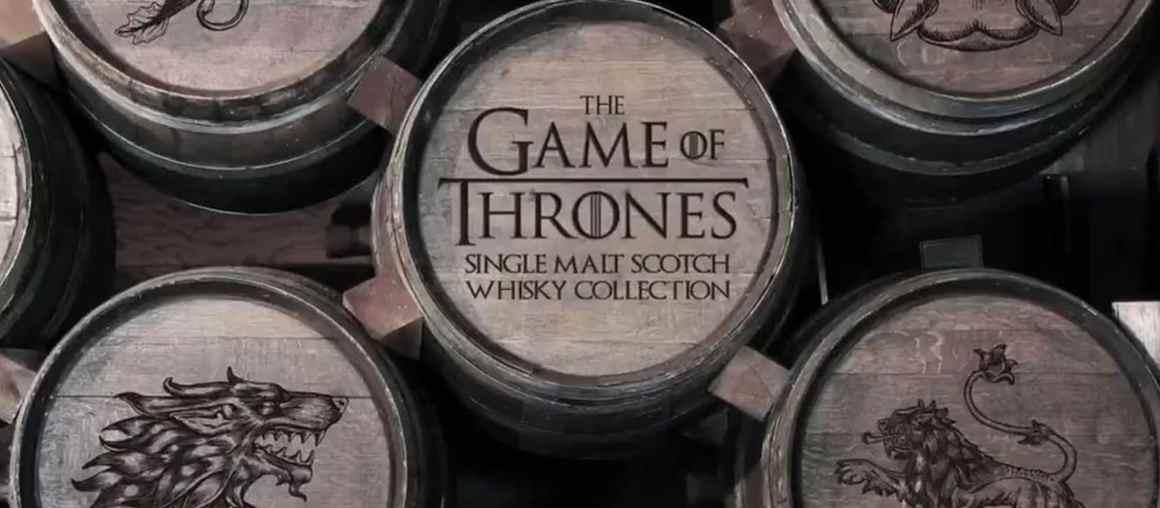 La colección de whisky de Juego de Tronos