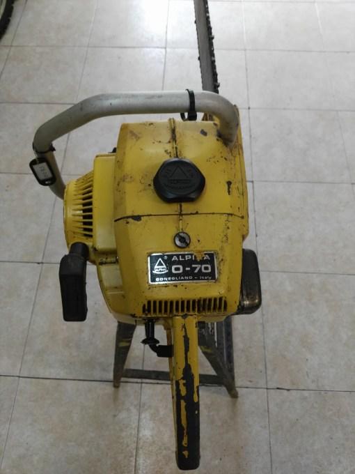 motosierra alpina 070