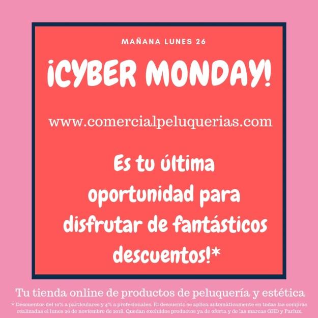 CYBER MONDAY 2018 CUADRADO