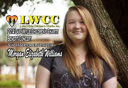 Morgan Williams LWCC Concert Flyer