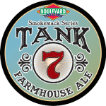Tank 7 Farmhouse Ale Badge