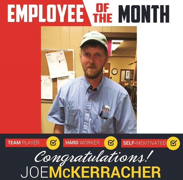 Employee of the Month – December 2016