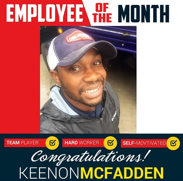 Employee of the Month – February 2018