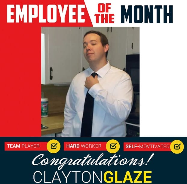 Employee of the Month – March 2018