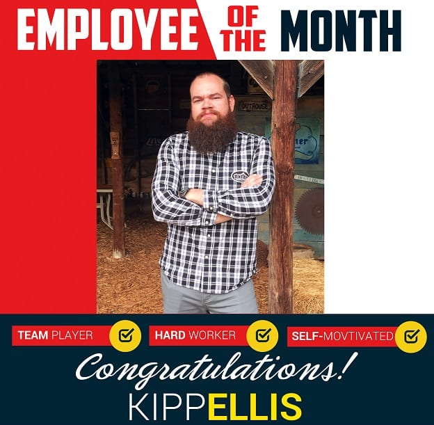 Employee of the Month – April 2018