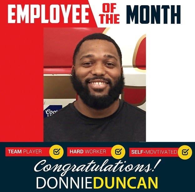 Employee of the Month – July 2019