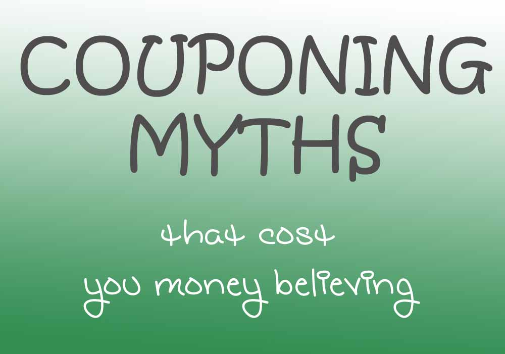 Couponing Myths Busted! Start saving your family money now at comesaveaway.com