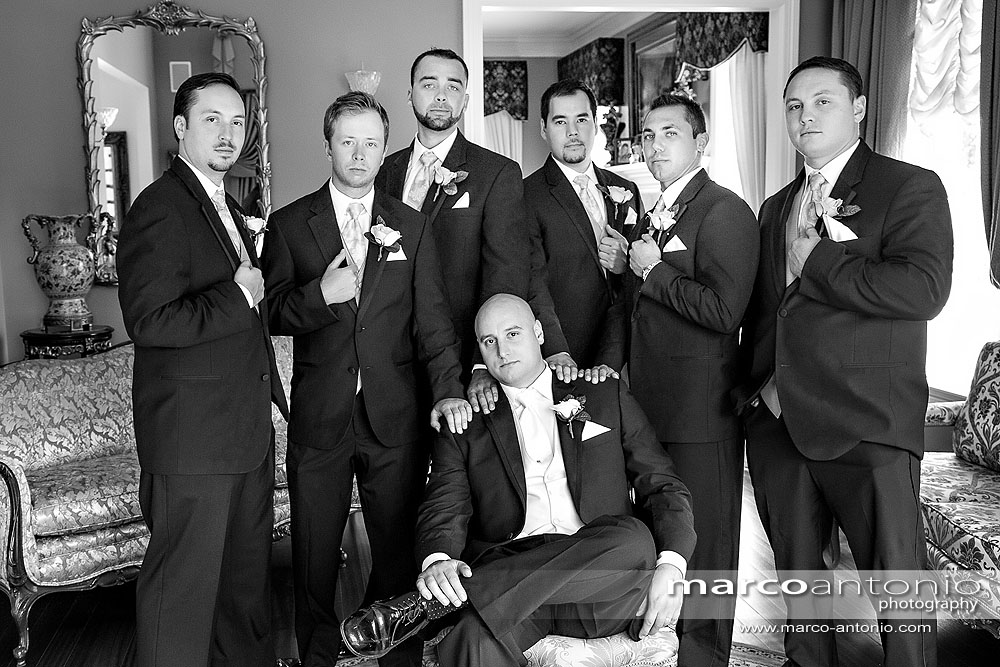 This is how you do a Groomsman Picture!