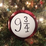 DIY-Harry Potter ornament! Platform 9 3/4