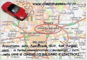 acquistiamo auto usate a Cinisello Balsamo e limitrofi