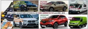 in fermo amministrativo acquistiamo autoveicoli nelle Marche e tutta Italia anni 2009- 2019