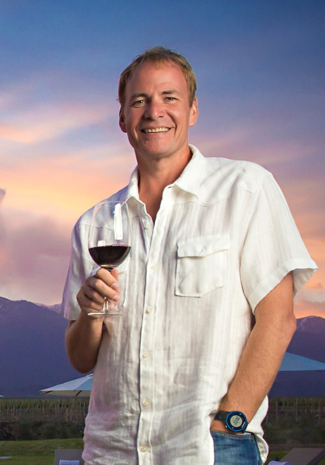 Michael Evans from The Vines of Mendoza.