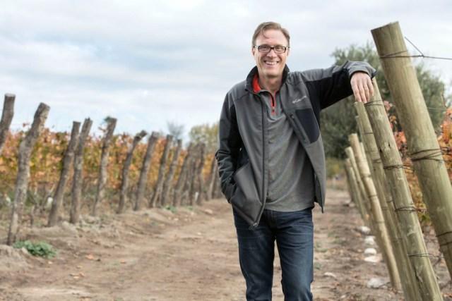 Jeff Mausbach of Manos Negras winery.