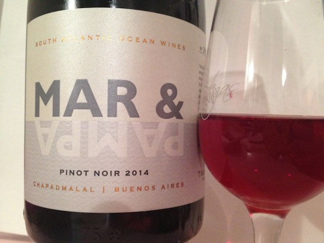 This 12% Pinot Noir is grown just two miles from the Atlantic Ocean.