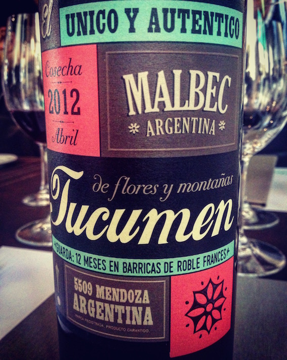 Tucumen Malbec Reserva 2012.
