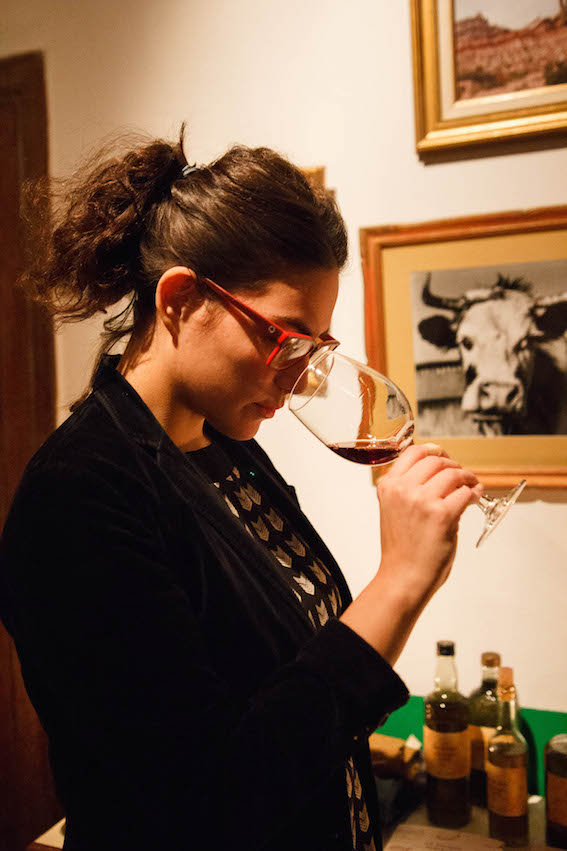 Sommelier Victoria Ortemberg.