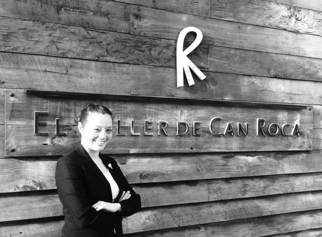 Sommelier Gabriela Lafuente at El Celler de Can Roca.