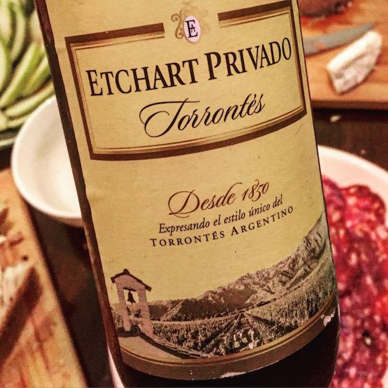 Etchart Privado Torrontés 2015.