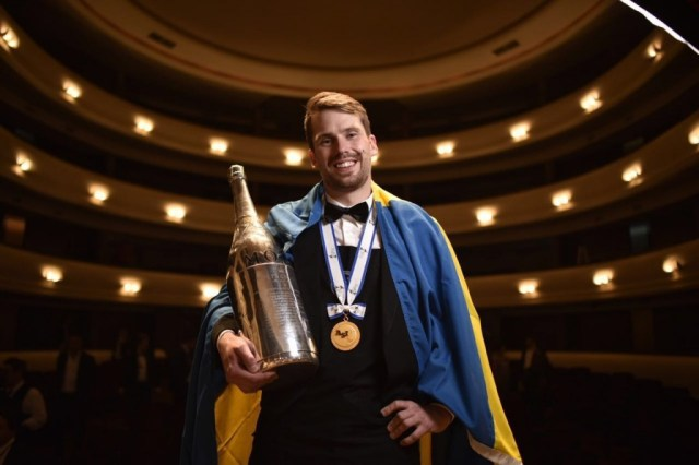 The best sommelier in the world Arvid Rosengren.