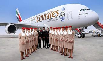 aviao_emirates airlines