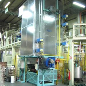 Impianti di essiccazione verticali di anime di fonderia