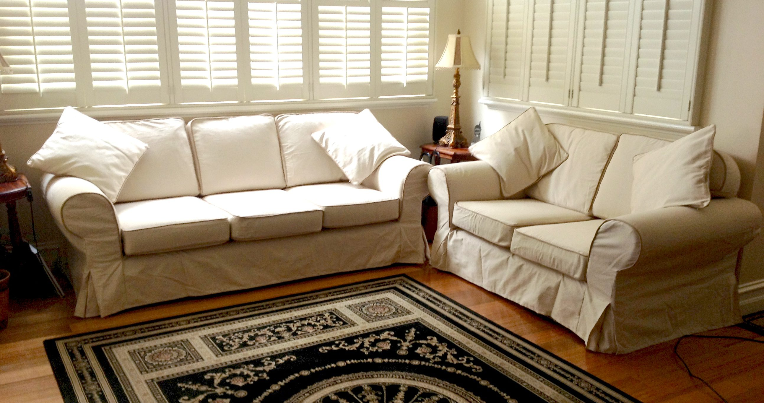 custom slipcovers and couch cover for