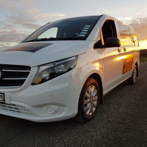 Comfort airport shuttle Vito 7 seater