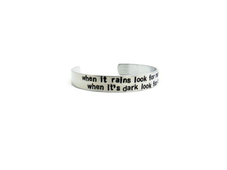 custom quote cuff