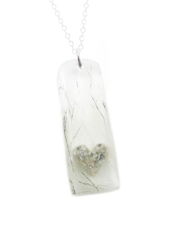hair and ashes necklace