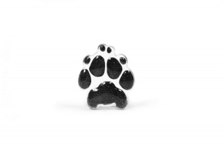 actual paw print pocket stone