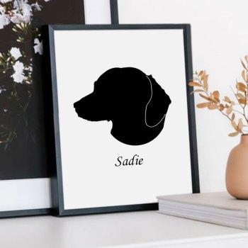Custom Pet Silhouette (Digital)