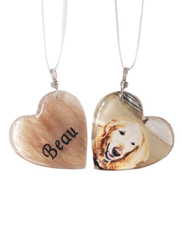 dog loss ornament
