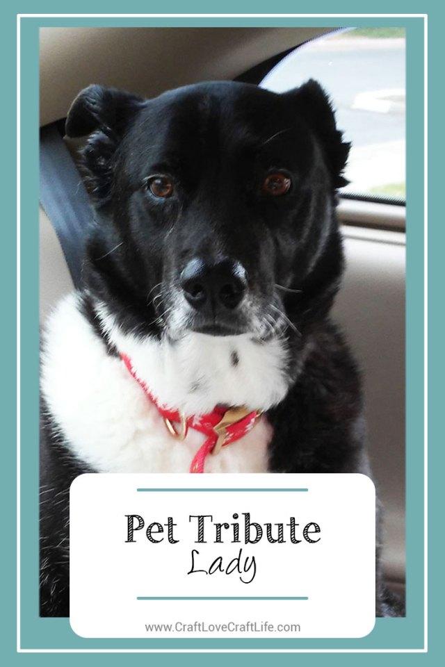 dog loss tribute