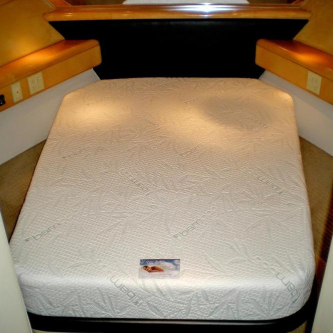 Cool Gel Memory Foam Boat Mattress