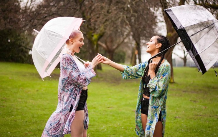 Paisley Tilda Kimonos | Best Friends | Friendship | Vancouver Models