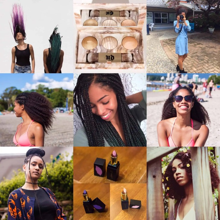 July Instagram @Comfygirlcurls | Black Blogger | Natural Hair Blog