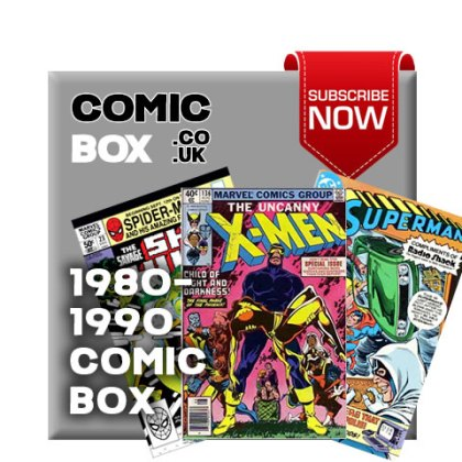'Buy Now' 1980-1990 Mystery Comic Box