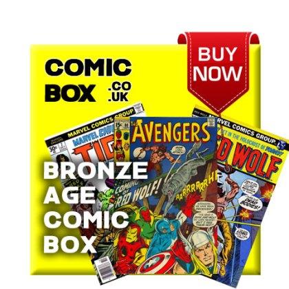 'Buy Now' Bronze Age Mystery Comic Box