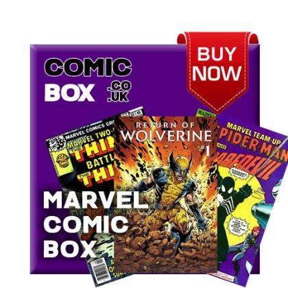 'Buy Now' Marvel Mystery Comic Box