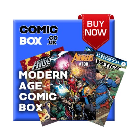 'Buy Now' Modern Age Mystery Comic Box