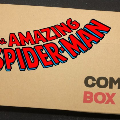 Mystery AMAZING SPIDER-MAN Comic Box 'Promo'