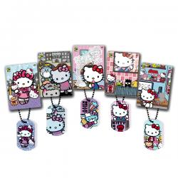Hello Kitty Exclusive Dog Tag & Trading Card Bundle