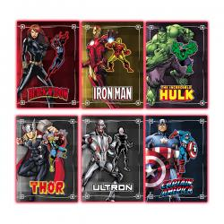 Marvel Patch Trading Cards