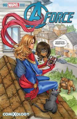 Marvel's A-Force #2 comiXology Variant