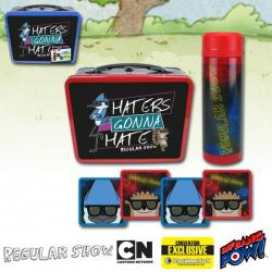 Regular Show Haters Gonna Hate Tin Tote Gift Set—Convention Exclusive