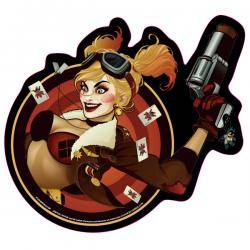 Exclusive DC Comics Bombshells Harley Quinn Die Cut Mouse Pad