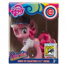 My Little Pony Pinkie Pie Sporty Vinyl Figure in Chicago Cubs Jersey