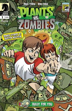 Plants vs. Zombies: Bully for You #1 San Diego Comic-Con International Exclusive Variant Cover by Charlie Adlard