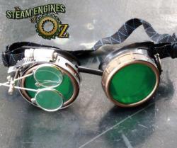 Emerald City Compass Goggles